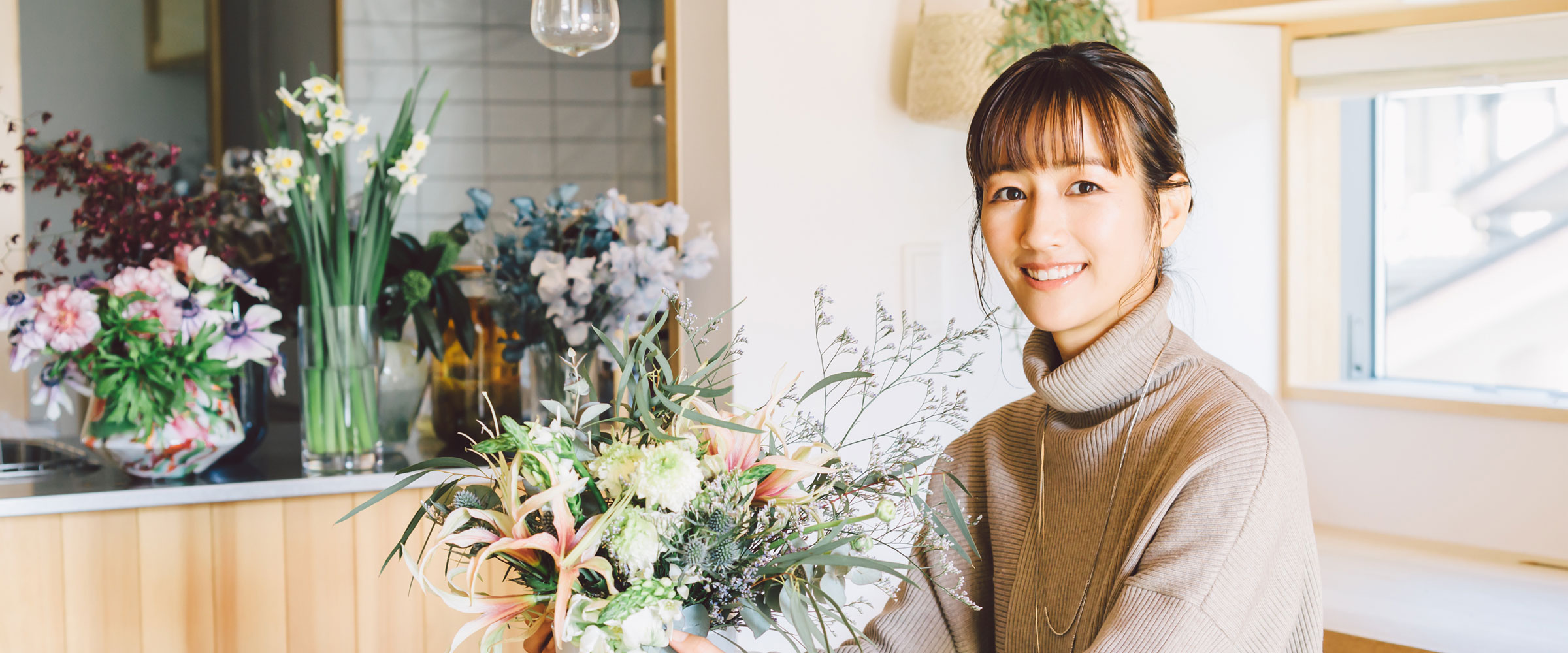 花がくれたワクワクする世界を、たくさんの人に届けたい・前田有紀さん<前編>